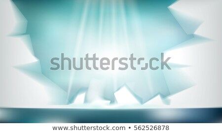 Digital Vector Abstract Empty Light Frozen Icy Foto stock © FrimuFilms