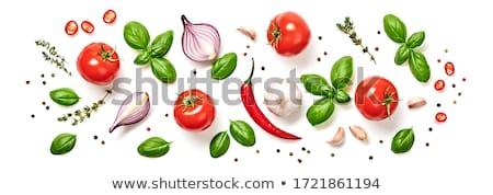 растительное коллекция лука томатный продовольствие Сток-фото © bedo