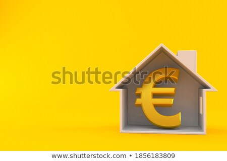 monétaire · chemin · maison · euros · faible · design - photo stock © imaster