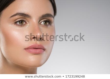 belle fille visage parfait peau belle homme photo stock volodymyr melnyk. Black Bedroom Furniture Sets. Home Design Ideas