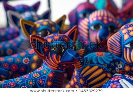 Művészetek iparművészet központi terv szín ceruzák Stock fotó © Lightsource