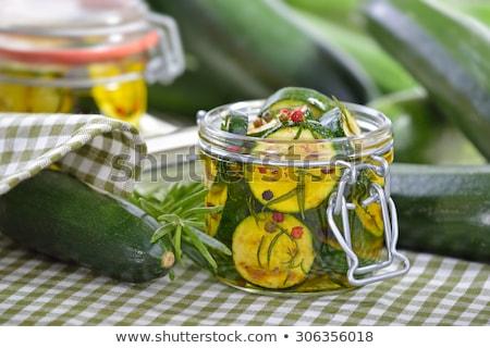 brut · casse-croûte · légumes · olives · dîner · plaque - photo stock © digifoodstock