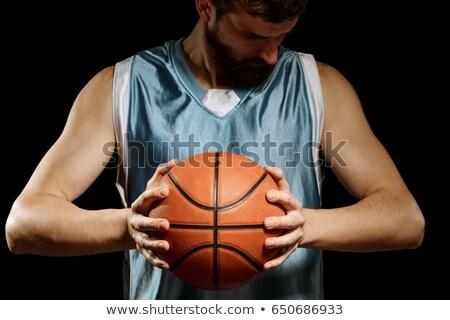 男 · 腕 · シルエット · 筋骨たくましい体 · 白人 · 残忍な - ストックフォト © deandrobot