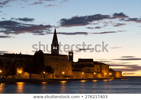 Euphrasian Basilica in Porec church view Stock photo © xbrchx
