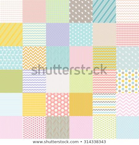 baby shower set of seamless backgrounds Stock photo © lemony