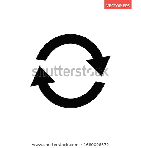 Go Round Vector Web Element Circular Button Icon Design Stock photo © rizwanali3d