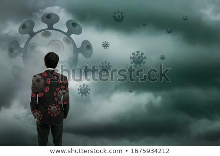 depresszió · hangulat · eredmény · érzés · szomorú · lefelé - stock fotó © lightsource