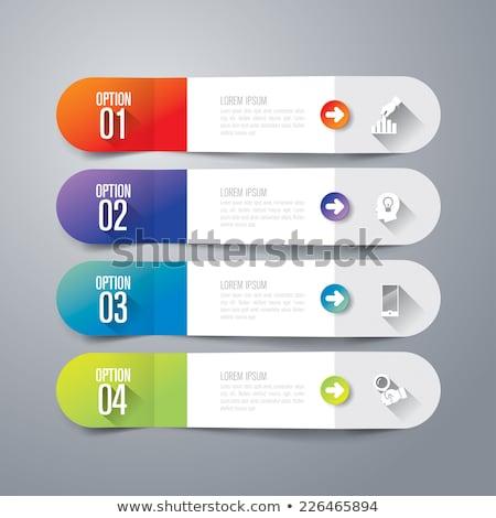 インフォグラフィック ダイアグラム 情報をもっと見る ベクトル プレゼンテーション ビジネス ストックフォト © robuart