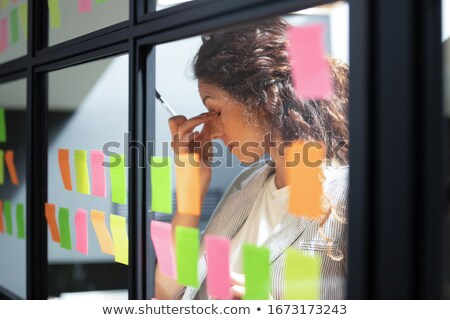 Working Task and Bad Job, Boss and Employee Stock photo © robuart