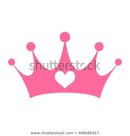 vector cute crown for princess Stockfoto © VetraKori
