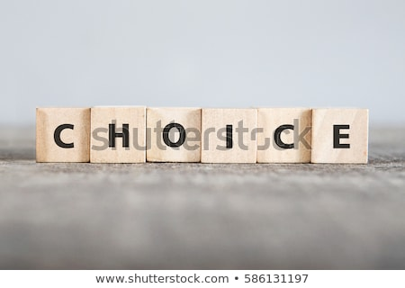 wyboru · sukces · portret · wesoły · młodych - zdjęcia stock © filipw