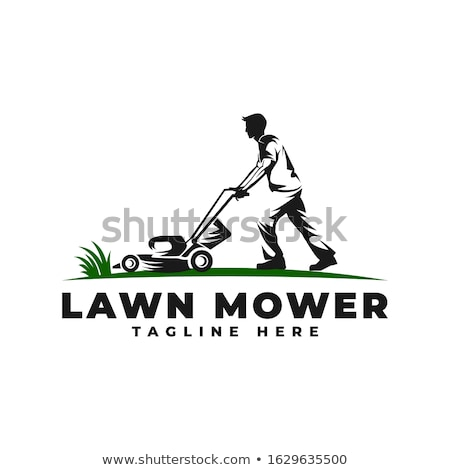 Man mowing grass Stock photo © jossdiim