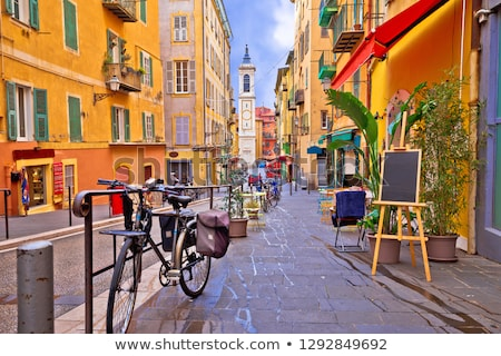 cityscape of Nice, France Stock photo © neirfy