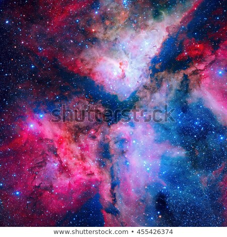 The spectacular star forming Carina Nebula or Grand Nebula. Stock photo © NASA_images