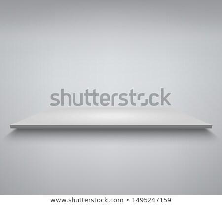 Stock fotó: Fehér · termék · bemutató · pódium · színpad · üres