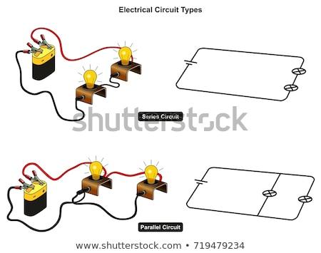 Diagramme pouvoir batterie illustration fond Photo stock © bluering