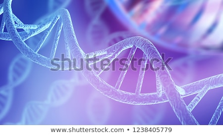 human dna abstract stock photo © lightsource