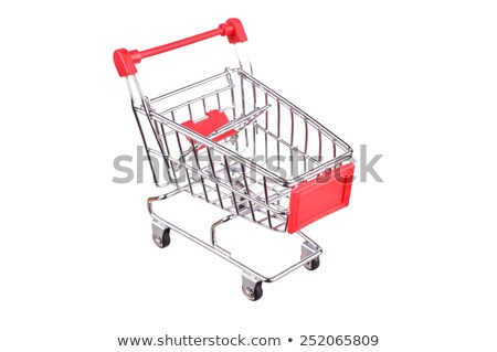 child in shoppingcart with toy car Stock photo © Paha_L