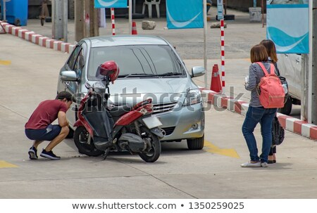 Accident without serious consequences Stock photo © georgemuresan