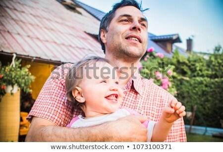 Portret stary córka spaceru wraz Zdjęcia stock © HASLOO