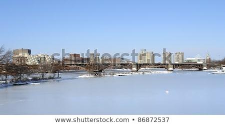Бостон · город · декораций · зима · время · городского - Сток-фото © prill