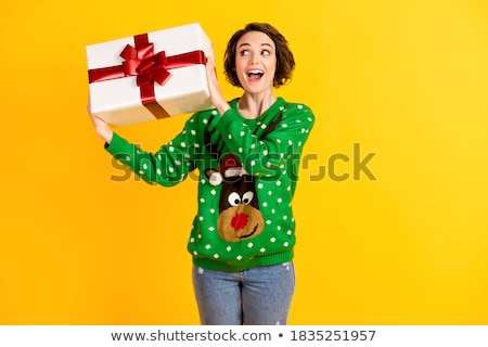 Woman with jumper Stock photo © photography33