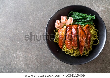roasted duck chinese style stock photo © fanfo