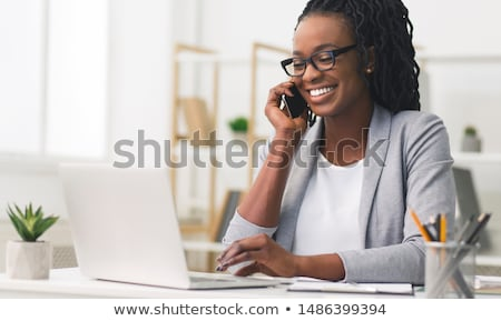 Black Businesswoman Stock photo © Forgiss