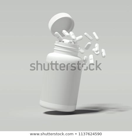 Hap şişe yüksek anahtar görüntü Stok fotoğraf © klsbear