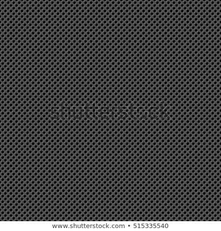 fém · grill · végtelen · minta · ipar · stílus · vektor - stock fotó © Sylverarts