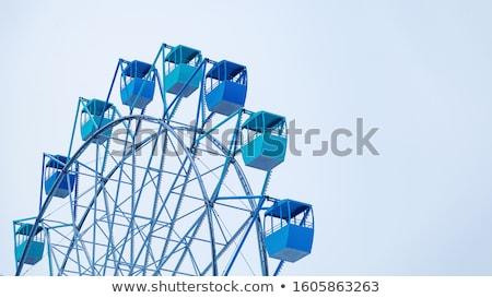 Ferris wheel in the winter stock photo © suliel