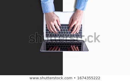duo of businessmen with computer Stock photo © photography33