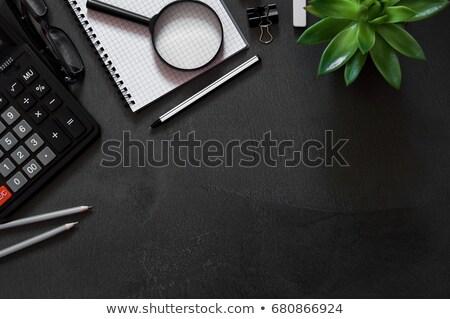 Organisateur simulateur spirale portable blanche Photo stock © zhekos