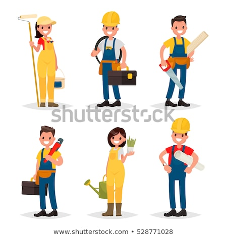 electrician and painter stock photo © photography33