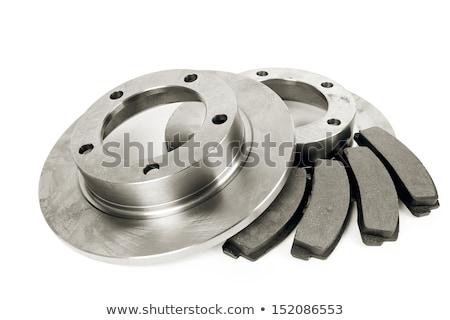 Isolated shot of disk brake parts  Stock photo © RuslanOmega
