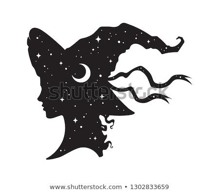 肖像 · 美しい · 魔女 · 小さな - ストックフォト © carlodapino