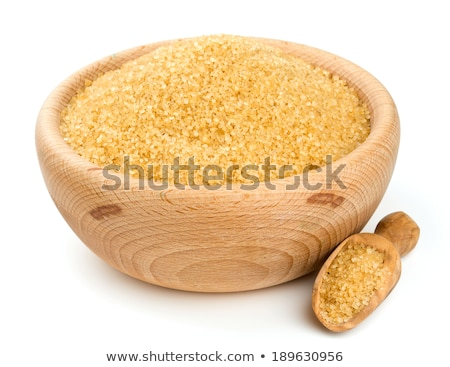 Pure Cane Sugar Bowl with clipping path Stock photo © danny_smythe