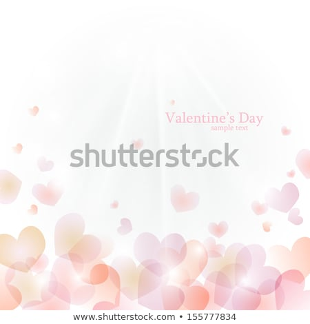 abstract glossy heart background  Stock photo © pathakdesigner