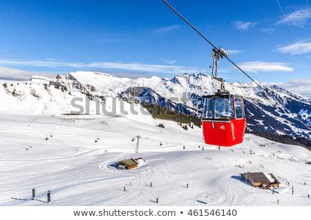 Kablo araba aşağı bakıyor tel üst kale Stok fotoğraf © iTobi
