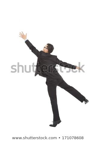 Businessman reaching up stock photo © photography33