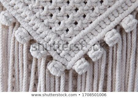 Crochê padrão flor Foto stock © Sarkao