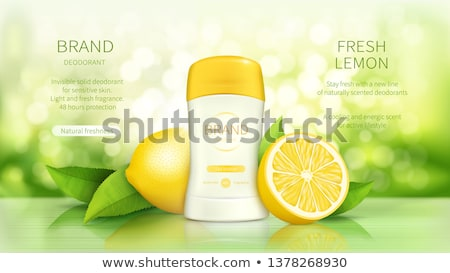 Fresh lemon for sale  Stock photo © elxeneize