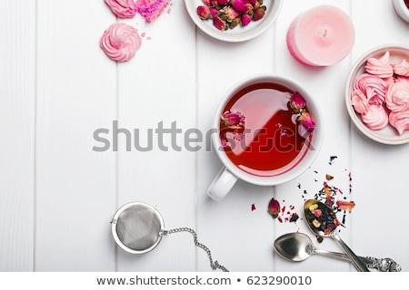 Natural tea from rose-petals Stock photo © Pruser