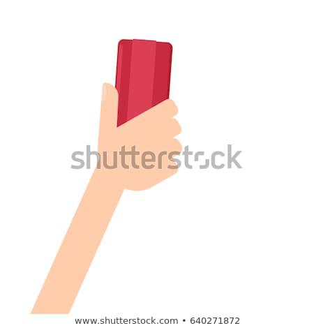 Tablicy gumki biały tle Zdjęcia stock © devon