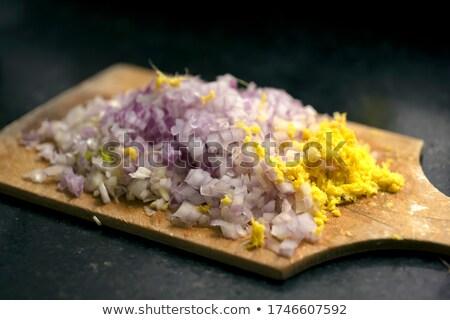гвоздика · чеснока · свежие · белый · продовольствие · лампа - Сток-фото © arenacreative