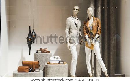 mannequins in a shop window stock photo © zzve