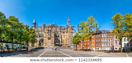 Foto stock: Prefeitura · Alemanha · pormenor · gótico · estilo · edifício