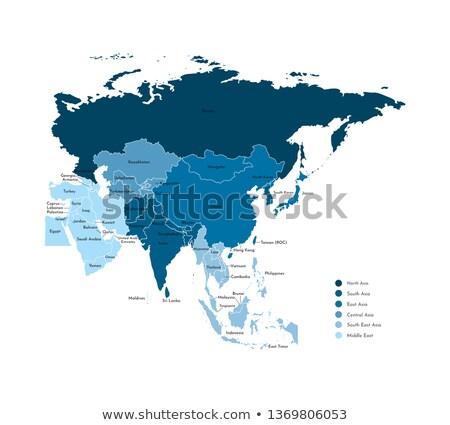 Black Central Asia Stock photo © Volina