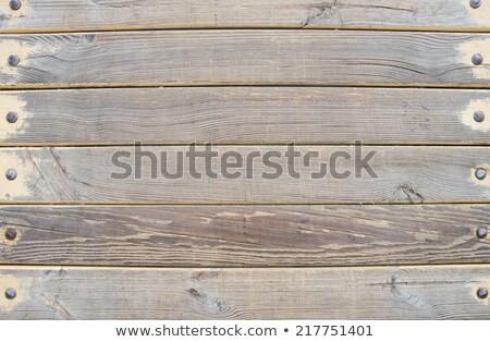 old plank boardwalk stock photo © anterovium