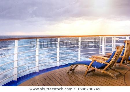 cruzeiro · mar · grande · navio · de · cruzeiro · água - foto stock © d13